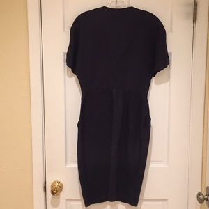 Fendi Dresses - Fendi linen dress black size 40 gold buttons